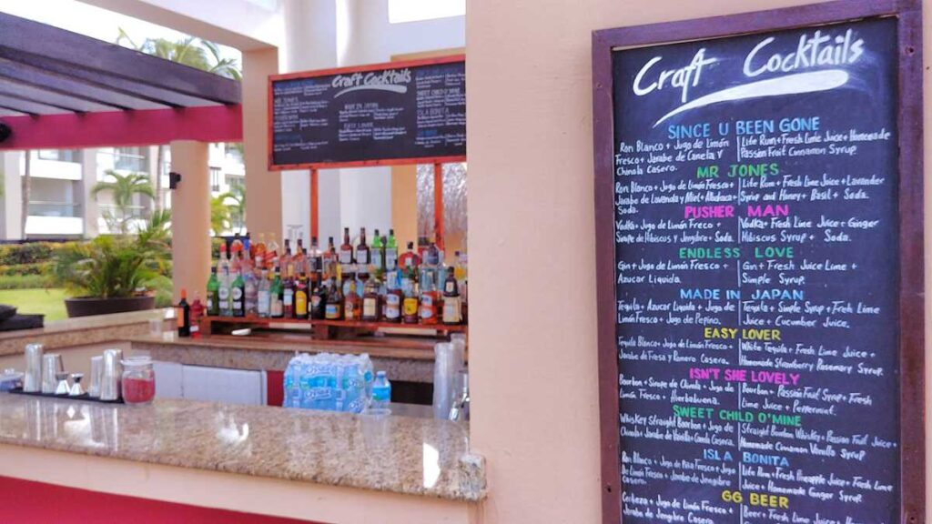 Delicious bars and cocktails are awaiting at one of the 23 bars at Hard Rock Hotel & Casino Punta Cana