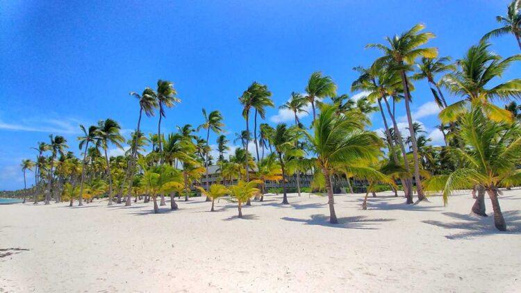 Bibijagua Beach in Punta Cana next to Barcelo Bavaro Resort
