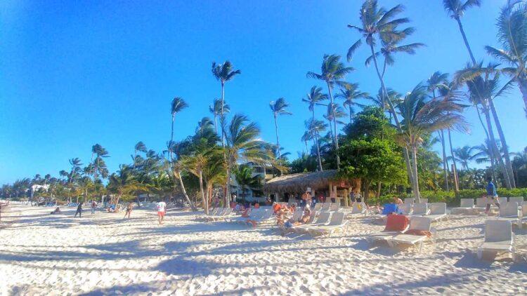 The beach at Impressive Resort in Punta Cana