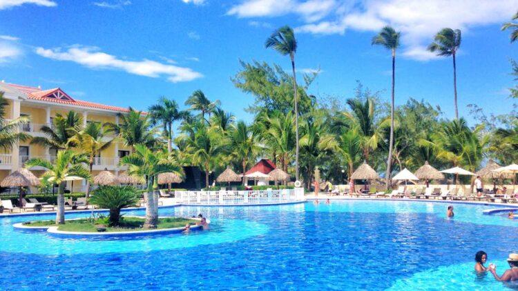 The Luxury Bahia Principe Ambar, part of the biggest all-inclusive resort in Punta Cana