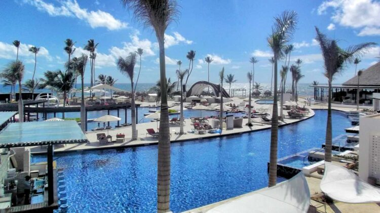 Royalton Chic Punta Cana, formerly Chic by Royalton, a popular resort in Punta Cana to socialize and party