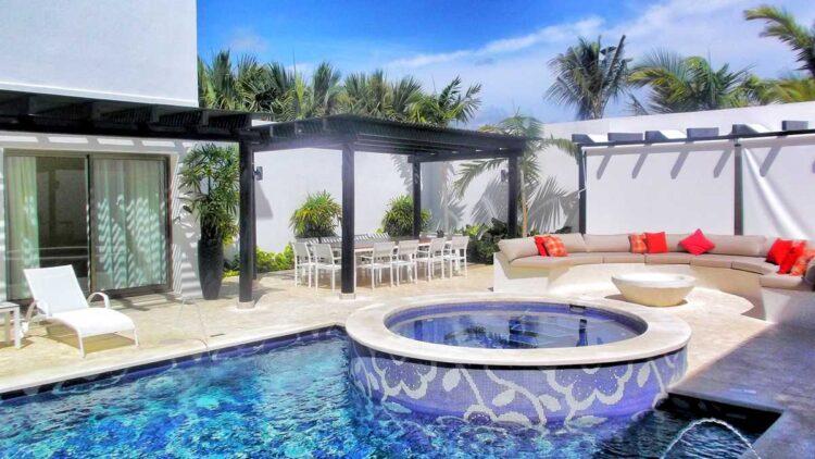 The elegant and beautiful Mansion Villa at Royalton Chic Punta Cana