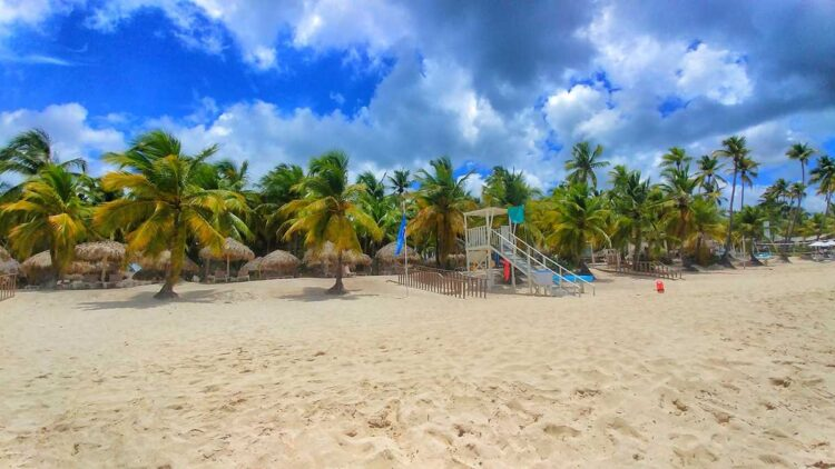 Famous Dominicus Beach in Bayahibe, Dominican Republic