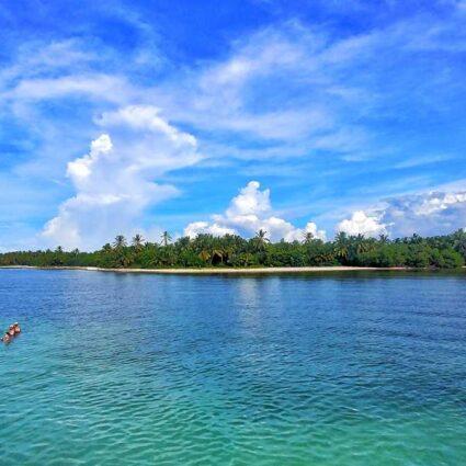 Catamaran tours in Punta Cana to the Natural Swimming Pool