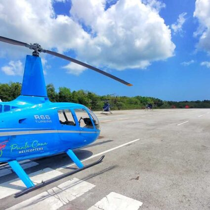 Punta Cana helicopter tours - the best excursions to see Punta Cana from above