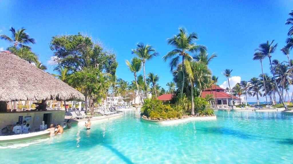 The main pool at Grand Bavaro Princess all-inclusive resort