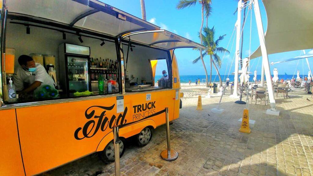 Punta Cana food trucks at Grand Bavaro Princess