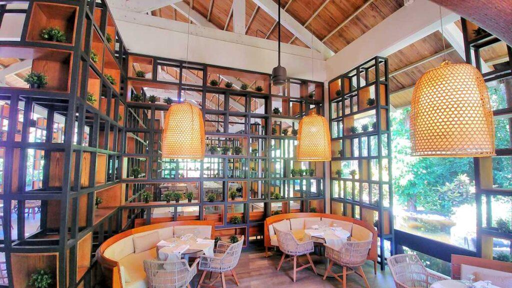 Wonderful chopin restaurant at Grand Bavaro Princess right in the nature