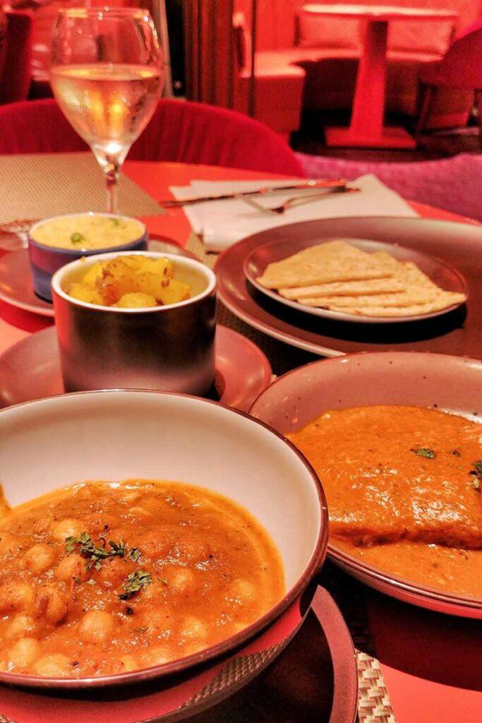 Delicious Indian restaurant at Grand Bavaro Princess in Punta Cana