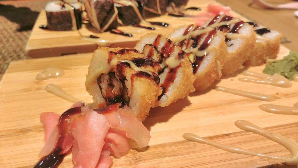 Delicious sushi in Punta Cana at Grand Bavaro Princess