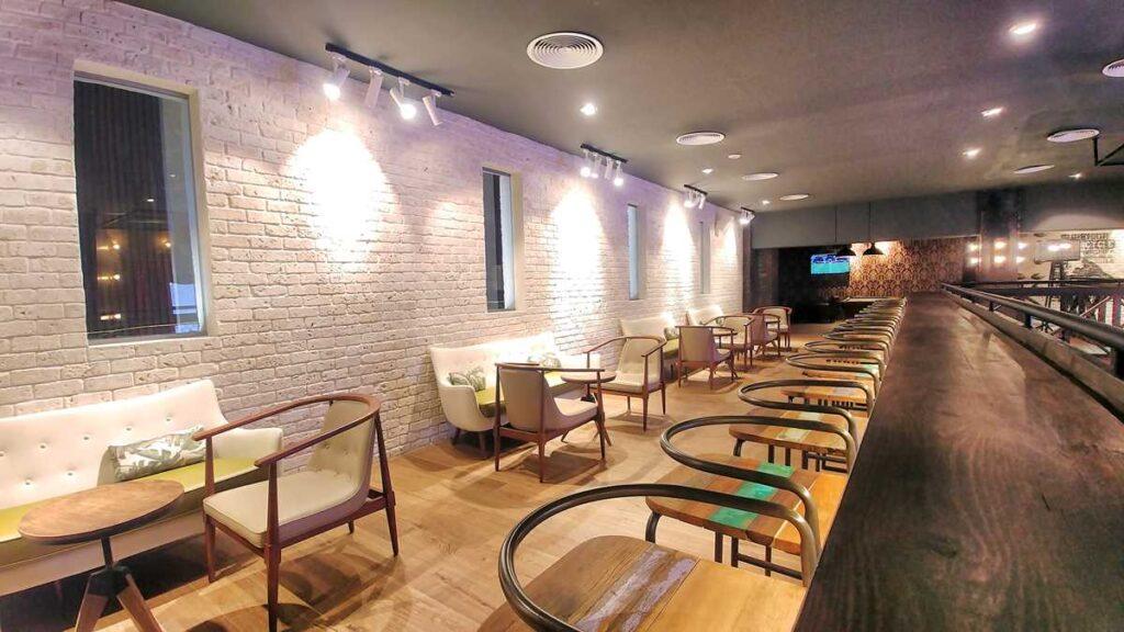 The sports bar at Grand Bavaro Princess