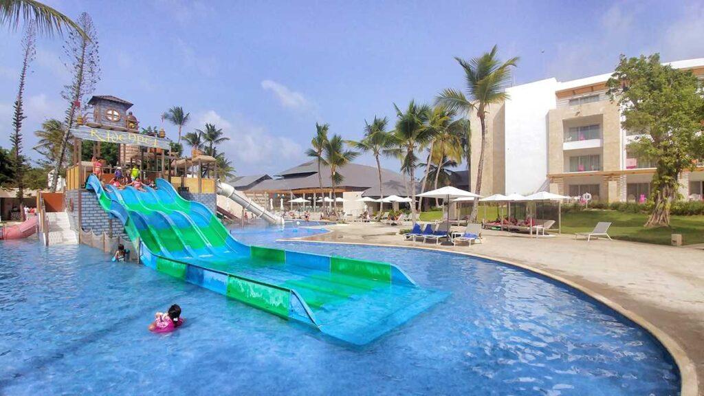 The water park at Princess Family Club Bavaro