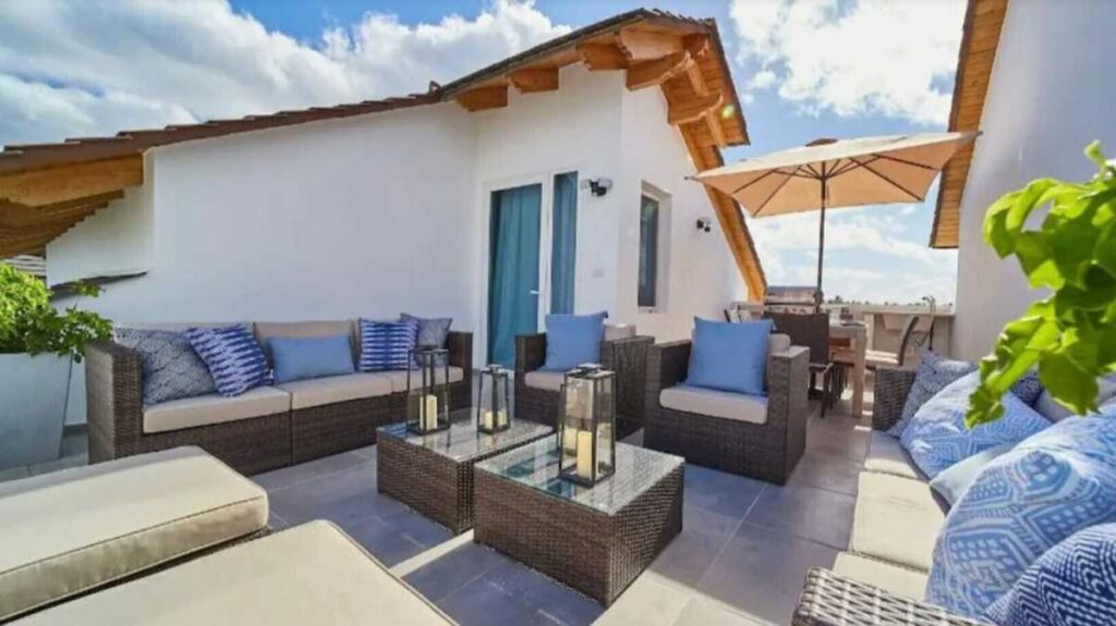 A beautiful rooftop apartment in Bayahibe
